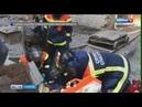 При демонтаже здания серьезно пострадал рабочий