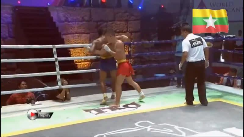 Бирманский бокс Spinning Shit Ah Ga Golden Belt Champions Challenge Fight