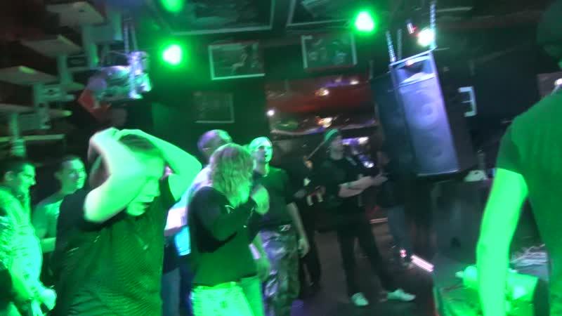 19.10.18 гр.Рок-н-рольный клоун ,,Джо,, (КОРОЛЬ и ШУТ - Проклятый старый дом cover) ClubHouse