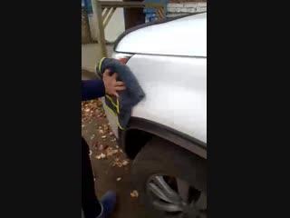 Тестирование автомобильного полотенца часть 2