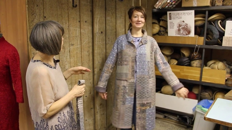 Е.Найденова Видеокурс Пальто в технике пэчворк анонс