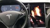 Tesla Romance Mode (fireplace)