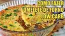 Como Fazer Omelete de Forno Low Carb Fácil