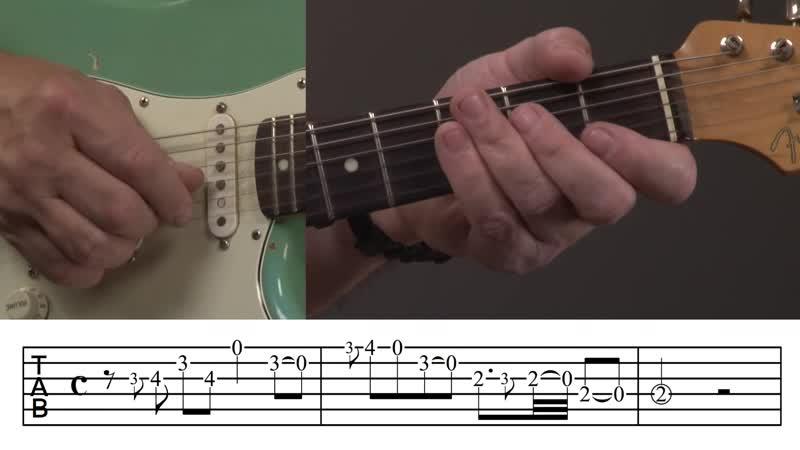 Jody Worrell - John Fogerty Style Guitar Lick