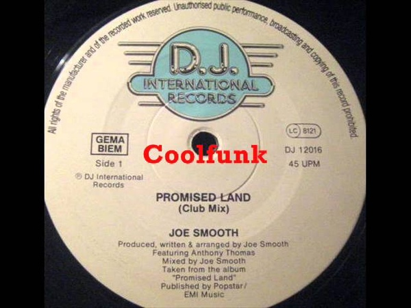 Joe Smooth - The Promised Land (12 Club Mix 1988)