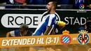 RCD Espanyol vs Villarreal CF (3-1) - Extended Highlights