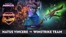 Natus Vincere vs Winstrike Highlights StarLadder ImbaTV Minor Season 2 CIS Qualifiers