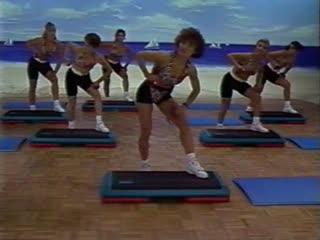 Cathe The Home Step Workout аэробика, шейпинг, фитнес