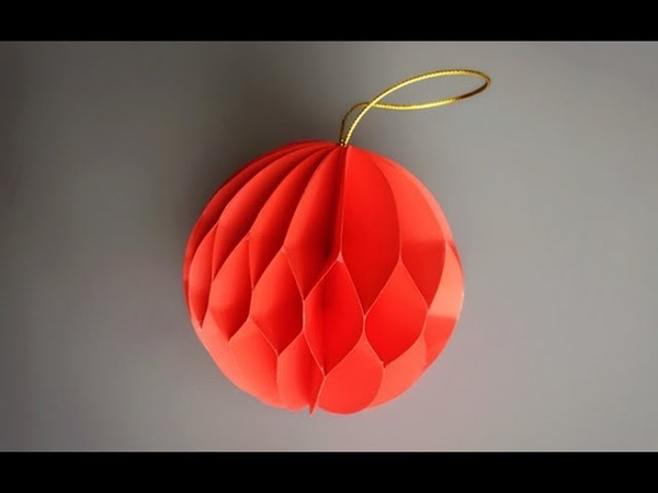 ABC TV | How To Make 3D Ball Paper Flower 2 - Craft Tutorial
