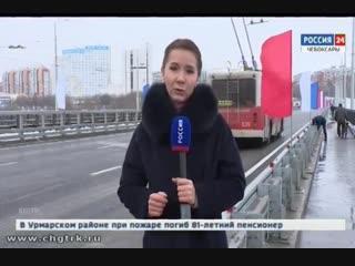 Движение по новому Московскому мосту в Чебоксарах стало шестиполосным