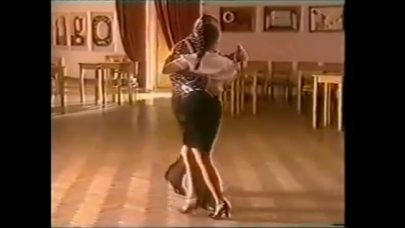 [Asi se baila milonga] - Pepito Avellaneda - Clase 14 Caminadita con cambio de frente...
