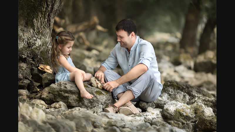 Насколько важно в воспитании девочки присутствие мужской энергии?