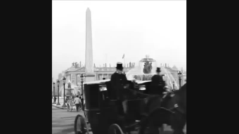 Paris vers 1890