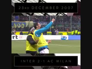 OnThisDay in 2007 - Derby delight for the Nerazzurri at Christmas time - FCIM
