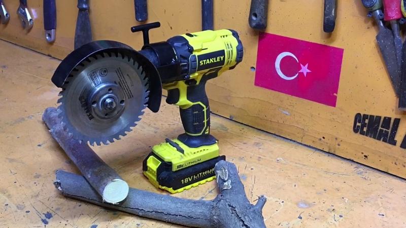 Şarjlı Taşlama ve Kesim Makinesi Yapıyoruz!!📽💿