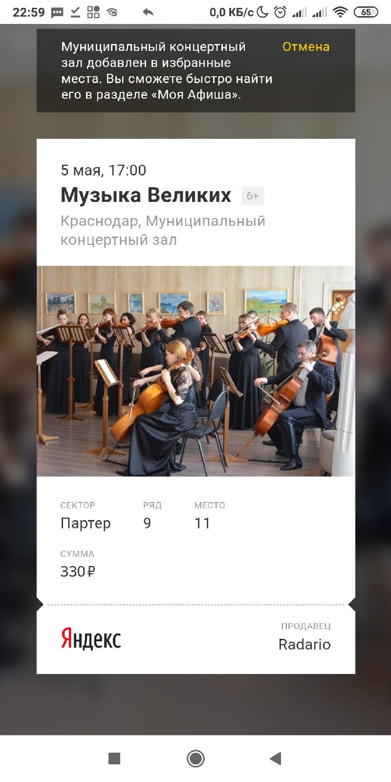 Поход на концерт классической музыки 1