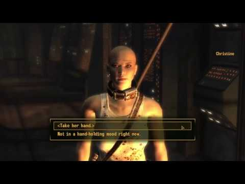 Fallout New Vegas Christine Romance (Dead Money DLC)