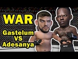 Israel Adesanya goes to WAR with Kelvin Gastelum to become the second African CHAMPION