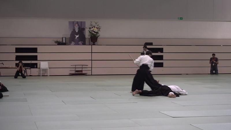 Shu Kitaura Sensei. Embukai 50º Aniversario introducción del Aikido en España