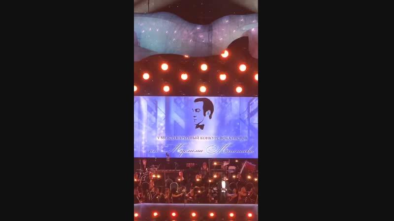 20.10.18. Emin на V международном конкурсе вокалистов им. М. Магомаева в Crocus City Hall