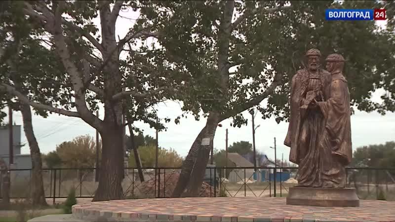 Новый парк построили в хуторе Новоаксайском