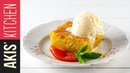 Greek orange pie   Akis Kitchen