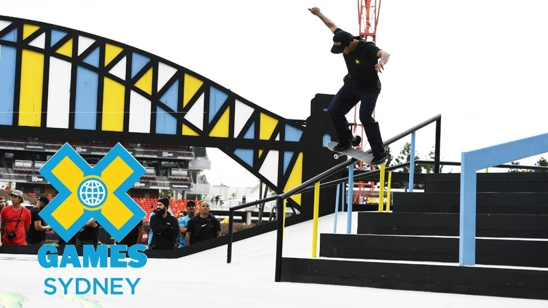 Kelvin Hoefler wins silver in Men's Skateboard Street | X Games Sydney 2018