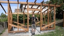 WOODWORKING Building a Timber Frame Greenhouse