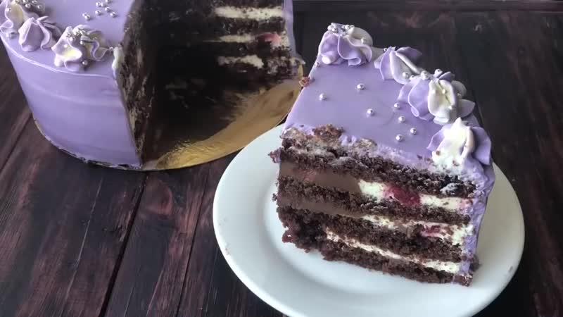 Вишня в шоколаде торты Бондидан mp4