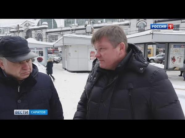 Михаил Исаев поручил коммунальщикам особое внимание уделить пешеходным зонам