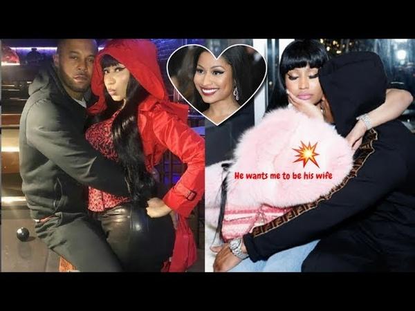 Nicki Minaj's Handsome Boyfriend ❤️ They'll marry early you think so