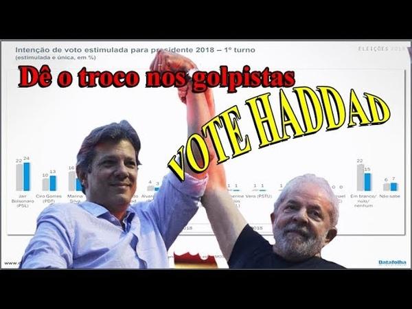 Lula dribla golpe e indica Haddad à Presidência