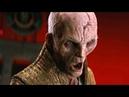 Сноук наказывает Кайло Рена Звёздные войны Последние джедаи