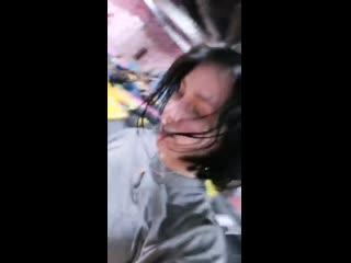Мария Бабко развлекается в батутном центре [2] #goddesbabko #mashababko #mariababko
