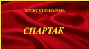Мужские имена Спартак
