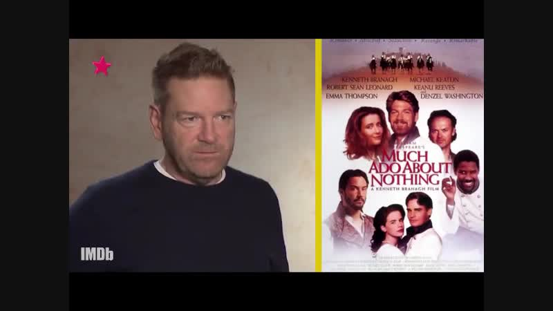 Kenneth Branagh on Much Ado About Nothing and Keanu Reeves