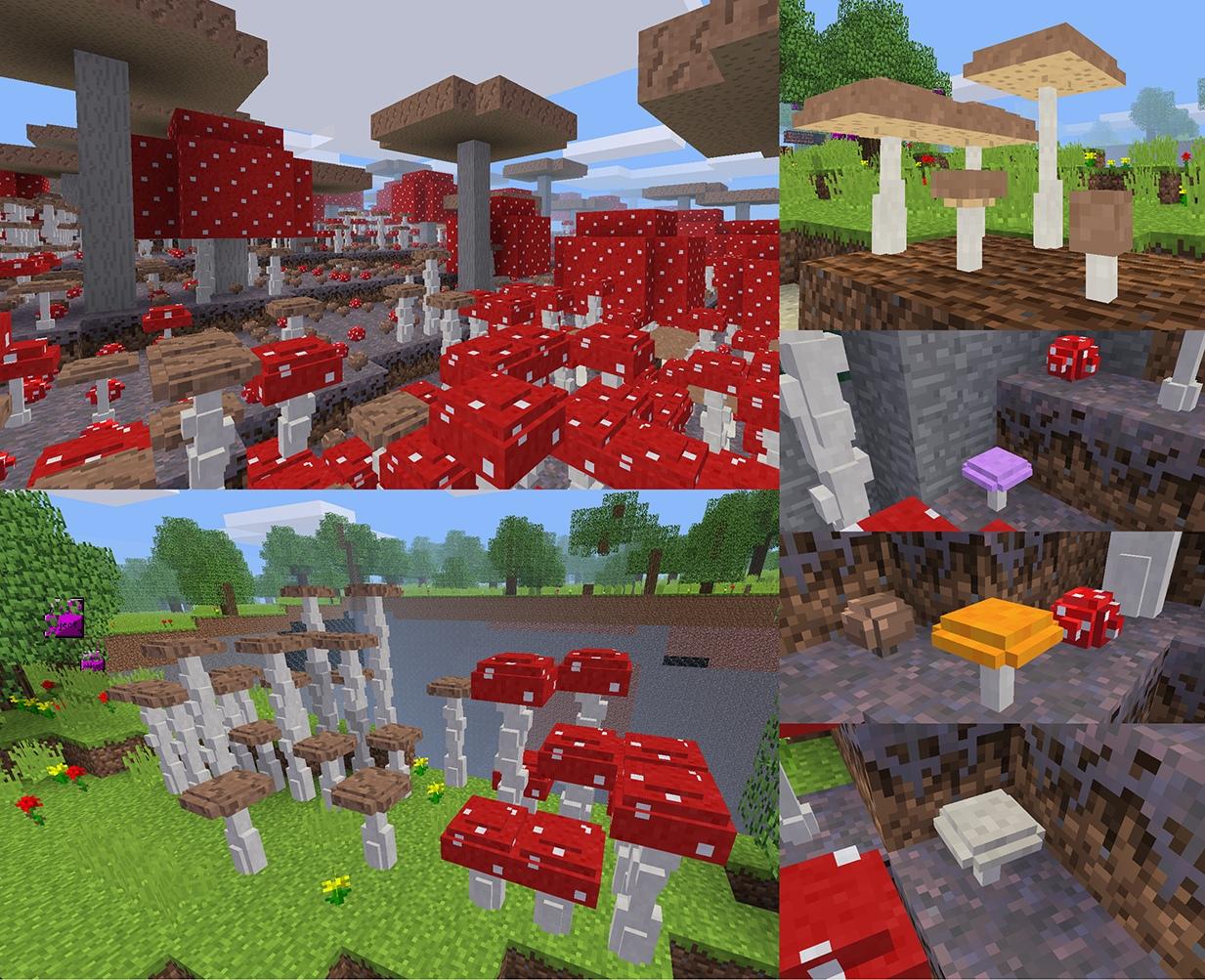 Minetest mushroom biome
