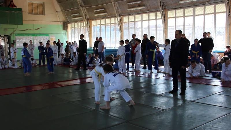 Копиченко Мария на турнире по дзюдо в Лоеве 30 03 19