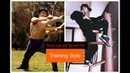 Bruce Lee and Donnie Yen Training Style