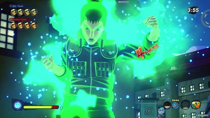 Naruto to Boruto Shinobi Striker - July open Beta match 2 - ► 1080p 60fps - No commentary ◄