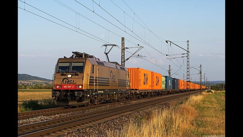 HSL, SETG 193er, TX Logistik, CFL Cargo uvm. auf der Frankenwaldbahn und bei Bamberg