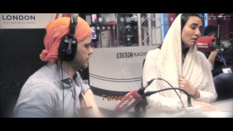 Manika Kaur Kirtan for Causes Fareed live at BBC London Radio
