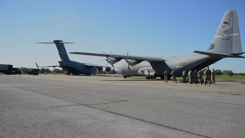 Dover C-17s Support Southwest Border Mission FORT KNOX, KY, UNITED STATES 29.10.2018