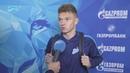 Олег Шатов на «Зенит-ТВ»: «Сегодня фортуна оказалась на моей стороне»