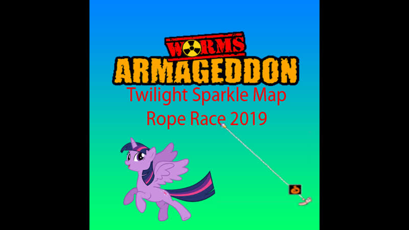 Worms Armageddon Rope Race Gameplay 2019