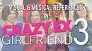 Visual Musical References in Crazy Ex Girlfriend (Season 3)