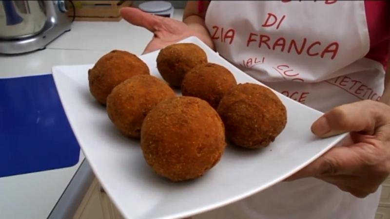 Arancini palle di riso in 2 modi semplici - Le ricette di zia franca