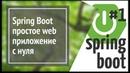 Spring Boot: делаем простое веб приложение на Java (простой сайт) [2018]
