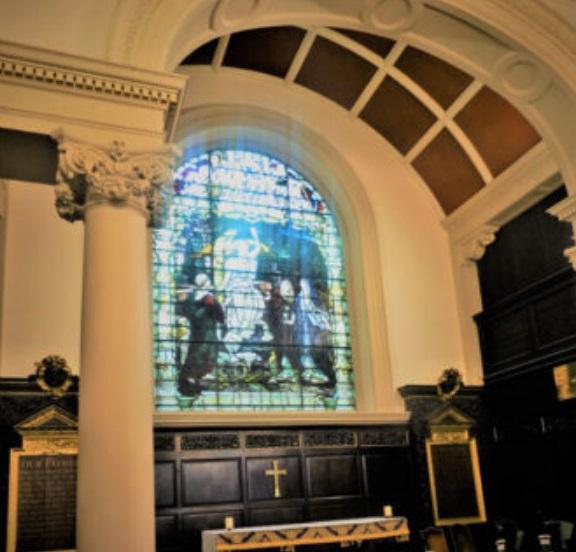 ЗАГАДКА ЦЕРКВИ В ТАНБРИДЖ-УЭЛЛСE, ИЛИ СЛЕД КРИСТОФЕРА РЕНА Церковь в городе Танбридж-Уэллс выглядит снаружи очень старой, с элементами готики, но внутри нее обнаруживается декор в стиле барокко.