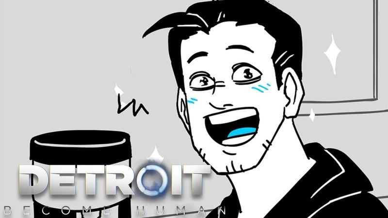 RK900's new Upgrade | Detroit: Become Human Comic Dub